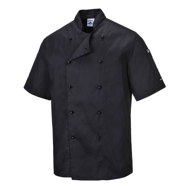 Kent Chefs Jacket - C734_BLACK