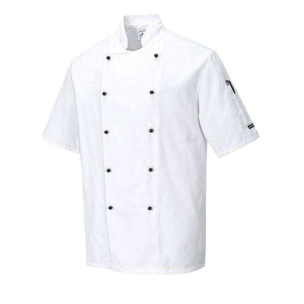 Kent Chefs Jacket - C734_WHITE