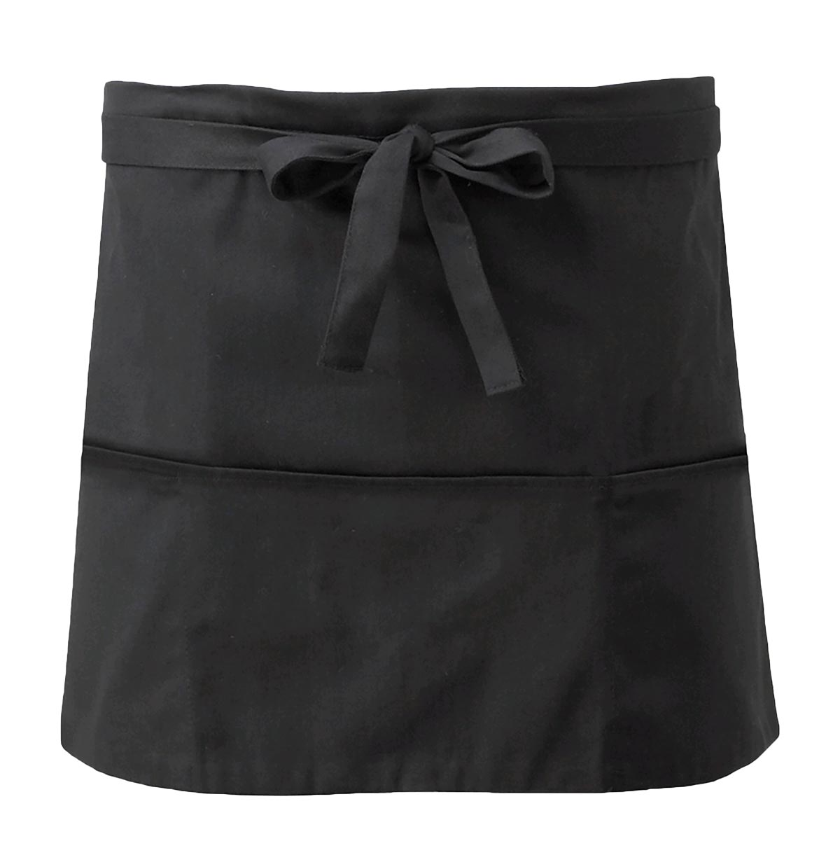 Short Apron With Open Pockets - CCAP3