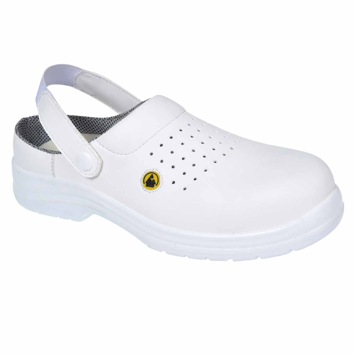 Compositelite Esd Perforated Safety Clog - FC03WHR