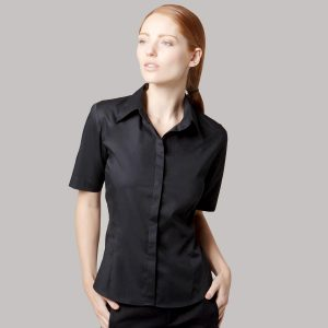 Ladies Bar Shirt Short Sleeve - KK735