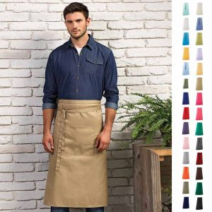 Colours Hospitality Apron - PR158_KHAKI-model