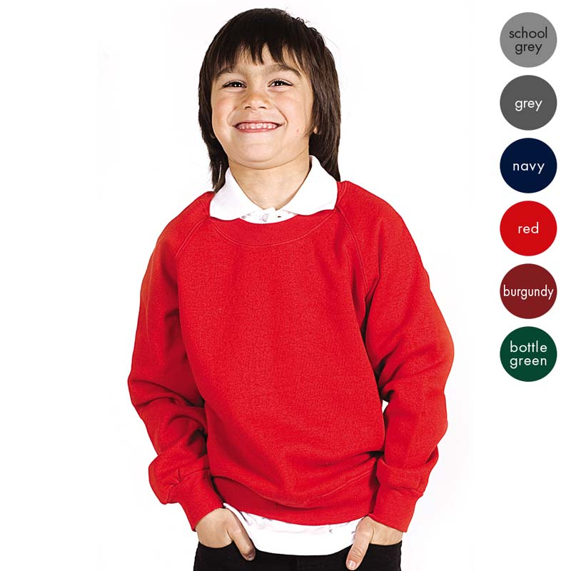 Kids Premium V-Neck Set-In Sweatshirt - TSK06