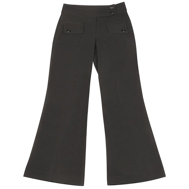 Girls School Trousers Stretch 2-Flap Bootleg - CTRG111